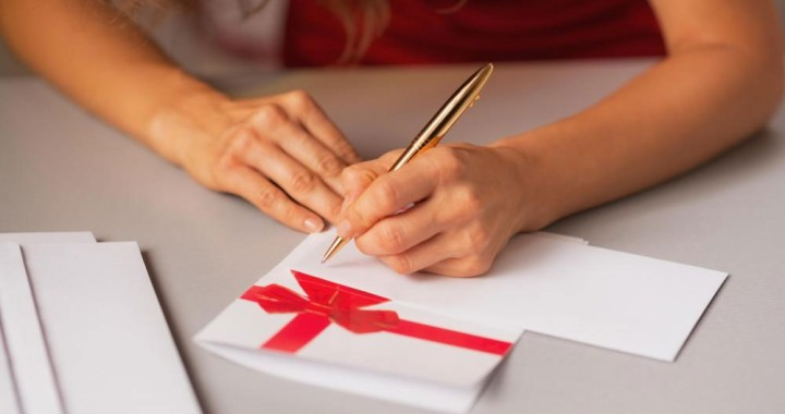 Christmas-letter-writing