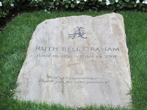 Ruth-Grahams-Gravestone