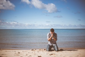 Prayer by the water